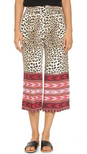 Юбка-брюки Daisy Kobi Halperin. Цвет: гибискус мульти