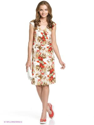 Платье STEINBERG. Цвет: красный