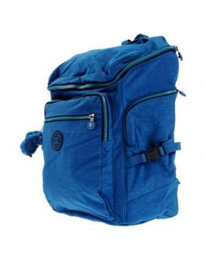 Рюкзаки и сумки на пояс KIPLING. Цвет: лазурный