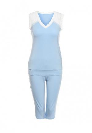 Пижама Monti&Farr. Цвет: голубой