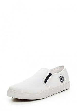 Слипоны U.S. Polo Assn.. Цвет: белый