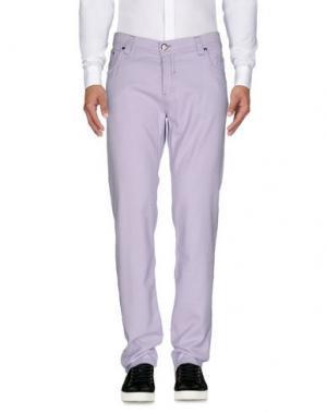 Повседневные брюки NICWAVE. Цвет: сиреневый
