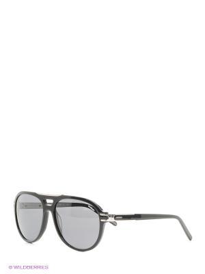 Солнцезащитные очки Strellson. Цвет: черный