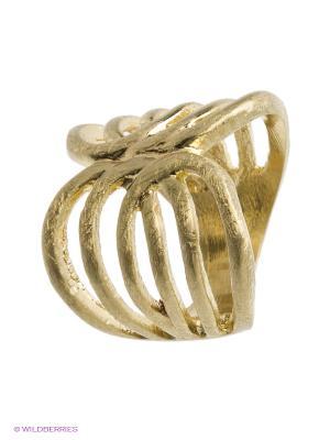 Кольцо Kameo-bis. Цвет: золотистый