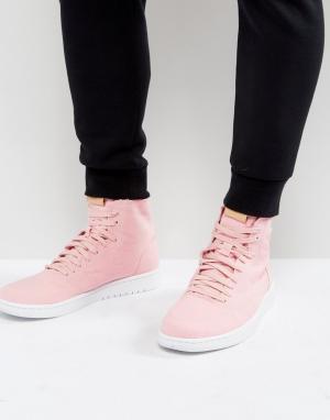 Jordan Розовые высокие кроссовки Nike Air 1 Retro Decon 867338-620. Цвет: розовый