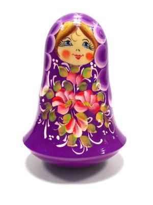 Неваляшка музыкальная -  Цветы на фиолетовом Taowa. Цвет: фиолетовый