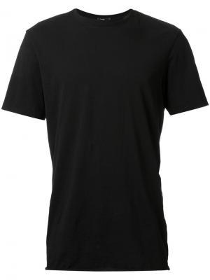 Классическая футболка с круглым вырезом Bassike. Цвет: чёрный