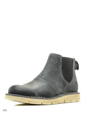 Ботинки TIMBERLAND. Цвет: серый