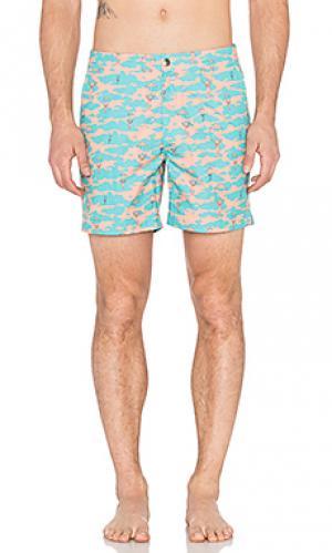 Плавательные шорты payotechute Ambsn. Цвет: зеленый