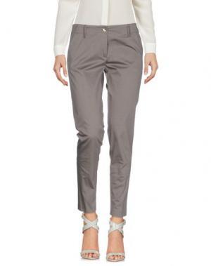 Повседневные брюки CARLA G.. Цвет: серый