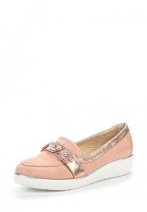 Туфли Tom & Eva. Цвет: розовый