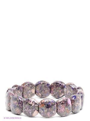 Браслет Migura. Цвет: фиолетовый, бежевый, лиловый
