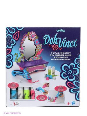 Набор дял творчества Стильный туалетный столик Hasbro. Цвет: голубой, розовый, желтый, синий, зеленый