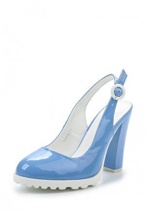 Туфли Wilmar. Цвет: голубой