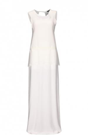 Платье Ann Demeulemeester. Цвет: белый