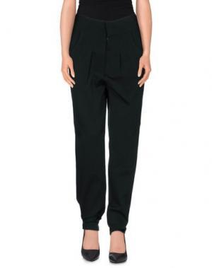 Повседневные брюки LES PRAIRIES DE PARIS. Цвет: темно-зеленый