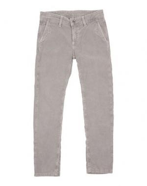 Повседневные брюки EDDIE PEN. Цвет: светло-серый
