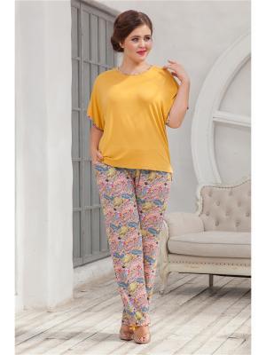 Комплект одежды CLEO. Цвет: горчичный, салатовый