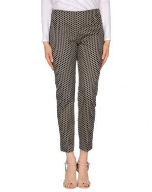 Повседневные брюки MY SIS. Цвет: светло-серый