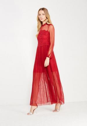 Платье Danity. Цвет: бордовый