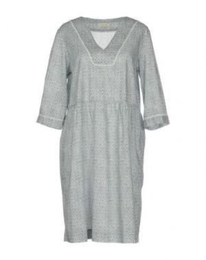 Короткое платье ZHELDA. Цвет: темно-синий