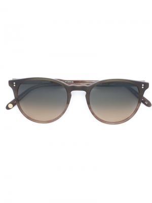 Солнцезащитные очки Milwood Garrett Leight. Цвет: коричневый