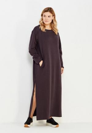 Платье Sitlly. Цвет: серый