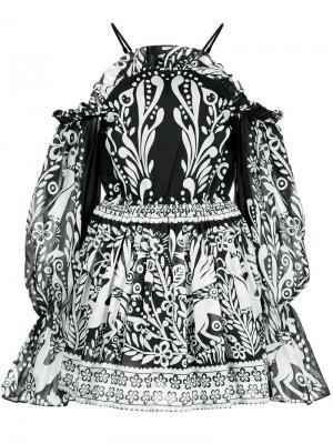 Платье Oh Deer Me Alice Mccall. Цвет: чёрный