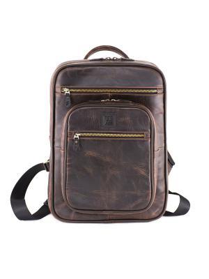 Городской рюкзак Antic Frenzo. Цвет: темно-коричневый