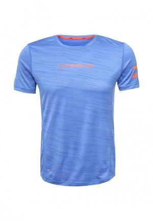 Футболка спортивная Anta. Цвет: синий