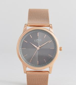 Limit Часы цвета розового золота эксклюзивно для ASOS. Цвет: золотой