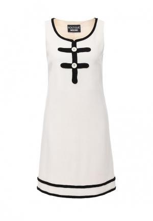Платье Boutique Moschino. Цвет: бежевый