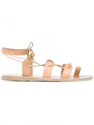 Сандалии Alcyone Ancient Greek Sandals. Цвет: телесный