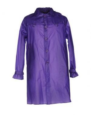 Легкое пальто HEVÒ. Цвет: фиолетовый