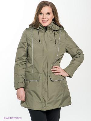 Куртка MARIS Maritta. Цвет: хаки