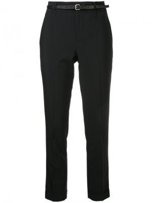 Зауженные брюки Jean Paul Knott. Цвет: чёрный