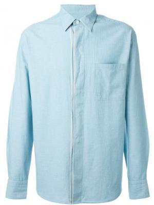 Рубашка с нагрудным карманом Al Duca D'Aosta 1902. Цвет: синий