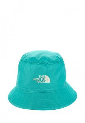 Панама The North Face. Цвет: бирюзовый