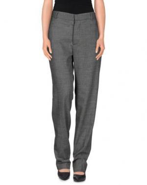 Повседневные брюки GARAGE NOUVEAU. Цвет: серый