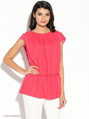 Блузка Oodji. Цвет: розовый