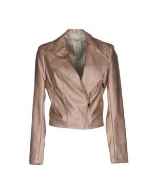 Куртка PAOLO CASALINI. Цвет: розовый
