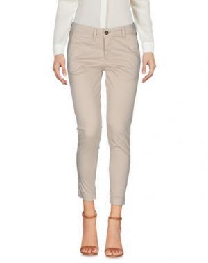 Повседневные брюки M!A F. Цвет: бежевый