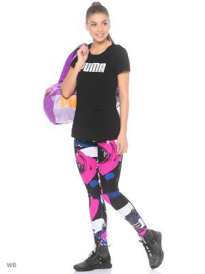 Леггинсы Archive Logo T7 Legging Puma. Цвет: черный, розовый, белый