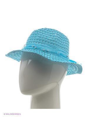 Шляпа Vittorio Richi. Цвет: голубой