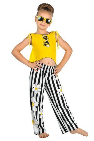 Пляжный комплект: брюки, топ Arina Festivita by Lora Grig. Цвет: мультиколор