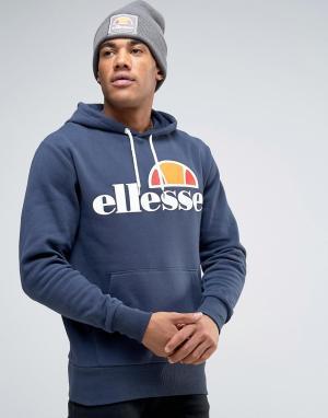 Ellesse Худи с классическим логотипом. Цвет: темно-синий