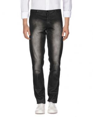 Джинсовые брюки CELLAR DOOR. Цвет: черный