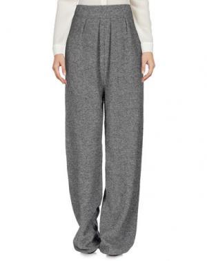 Повседневные брюки CIRCUS HOTEL. Цвет: серый