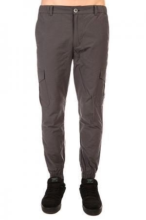 Штаны узкие  Cargo Grey Anteater. Цвет: серый