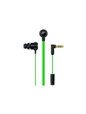 Наушники Razer Hammerhead V2. Цвет: черный, зеленый